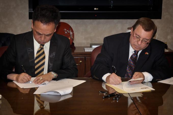 Partnership signing