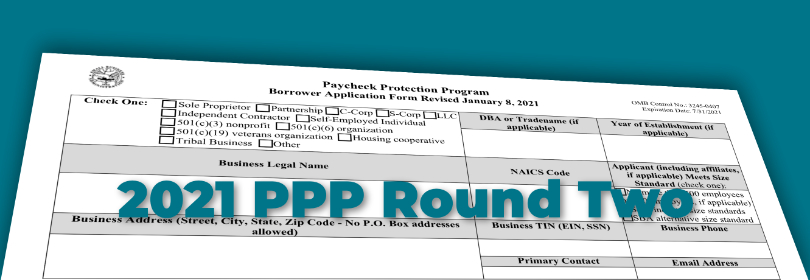2021 Paycheck Protection Program (PPP) - Round 2 - Now ...